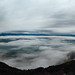 Fog and clouds panorama