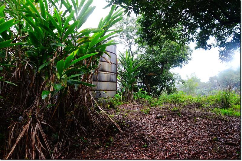 獅子山稜線蓄水桶