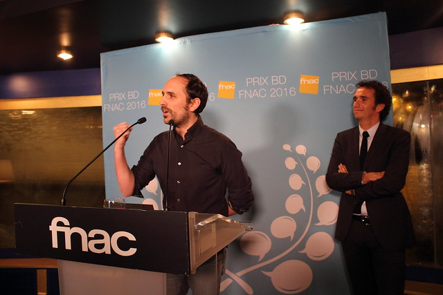 Benjamin Renner, Alexandre Bompard - Prix BD Fnac 2016