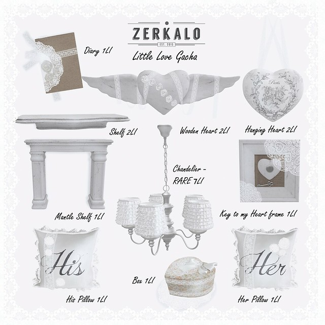 [ zerkalo ] Little Love - Gacha Key - soon @.Whimsical.
