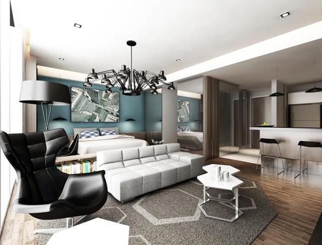 Anggun Residences - Studio