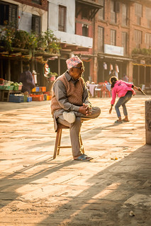 Grandpa in Bandipur