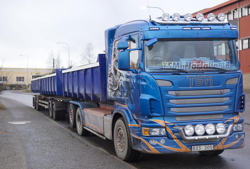 Iron Maiden truck