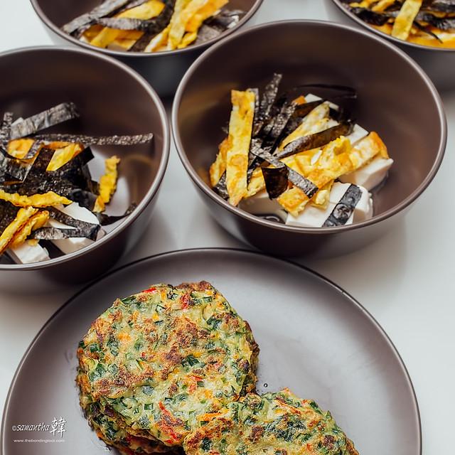 Korean Pancakes (Buchujeon) Miso Soup Ig-7952-