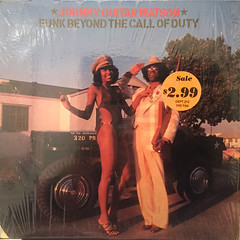 JOHNNY GUITAR WATSON:FUNK BEYOND THE CALL OF DUTY(JACKET A)