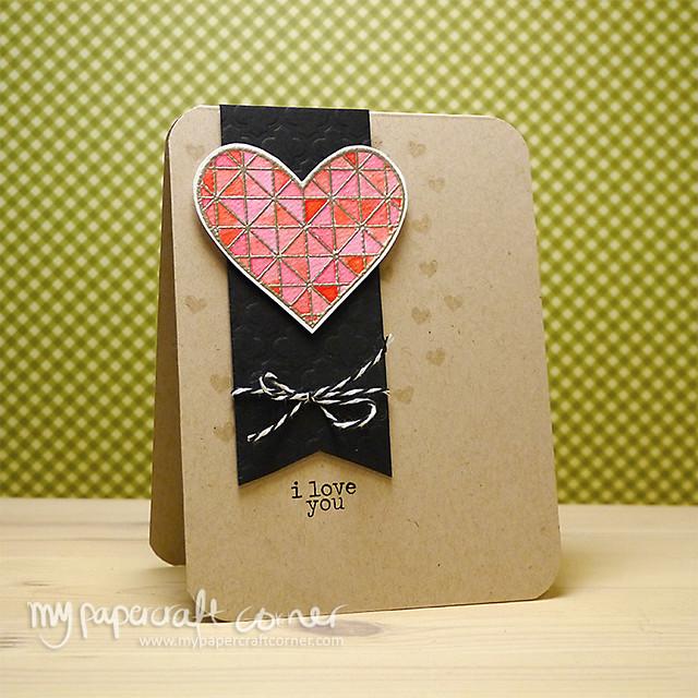 Love you Card #412