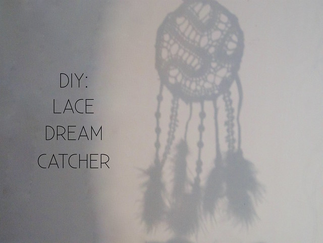 DIY: Lace Dream catcher