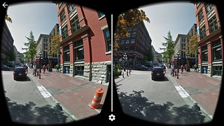 Google Streetview in Virtual Reality