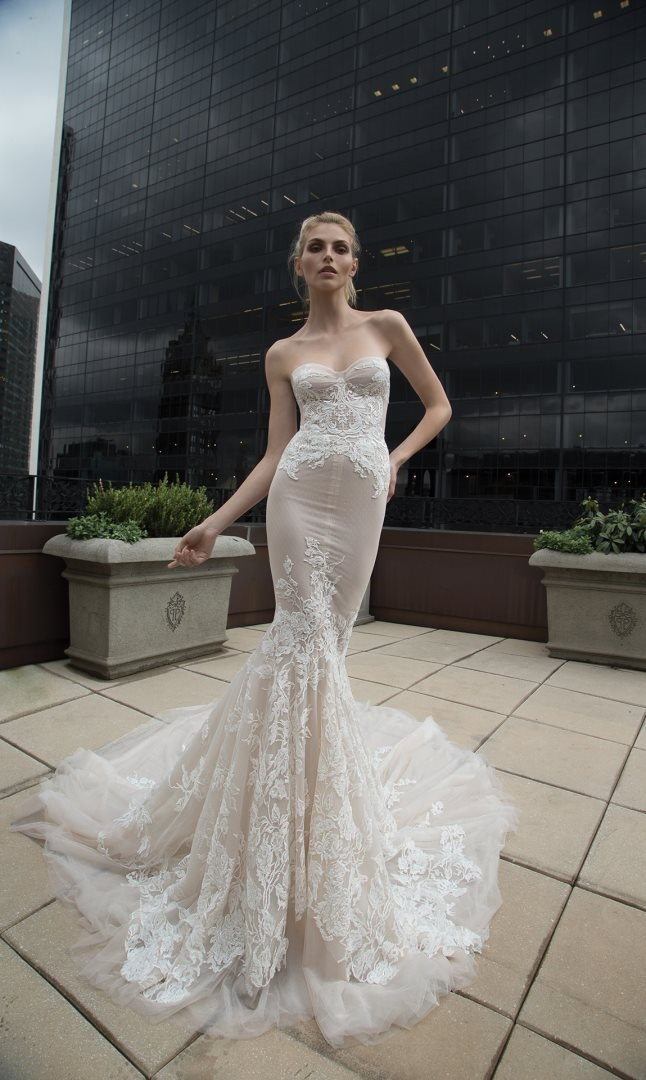 Inbal Dror 2016 Wedding Dresses - Mermaid wedding dress | itakeyou.co.uk