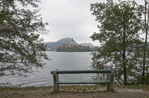 【写真】東欧周遊 : ブレッド湖