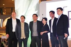 David Minol(Home Credite), Jay Sumulong(Smart), Chot Reyes(PBA), Alora Guerrero(OPPO), Stephen Cheng(OPPO), Garrick Hung(OPPO)
