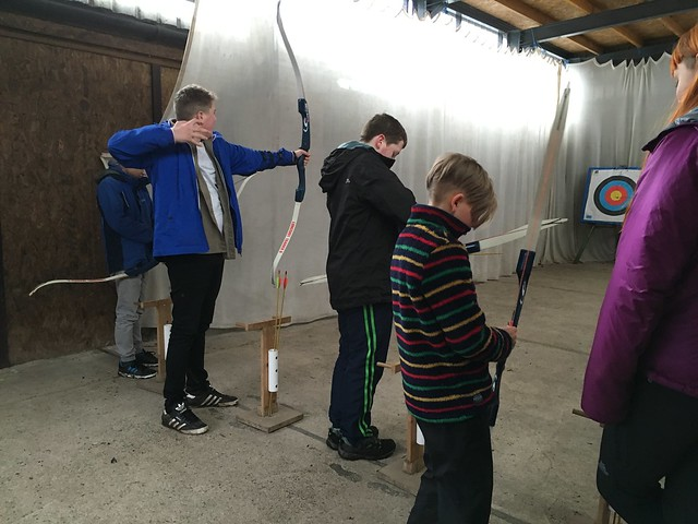 Subzero2016 Scouts & Explorers at Auchengillan Outdoor Activity Centre