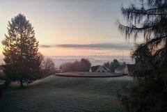 Winter Morning Sunrise at Bieberberg, Menden