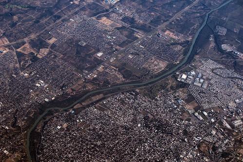 vacation river geotagged mexico texas unitedstates border flight aerialview aerial laredo windowseat riobravo nuevolaredo zeesstof sanjosédelcabotohouston
