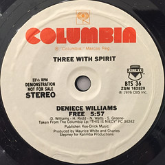 V.A.:THREE WITH SPIRITS(LABEL SIDE-A)