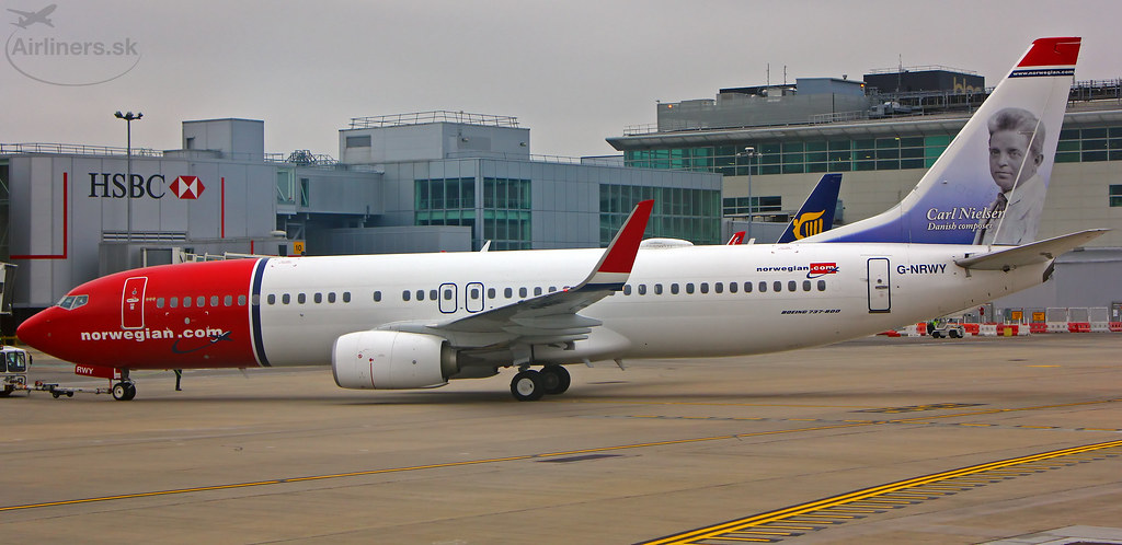G-NRWY - B738 - Norwegian Air International