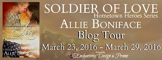 Soldier of Love Blog Tour Banner