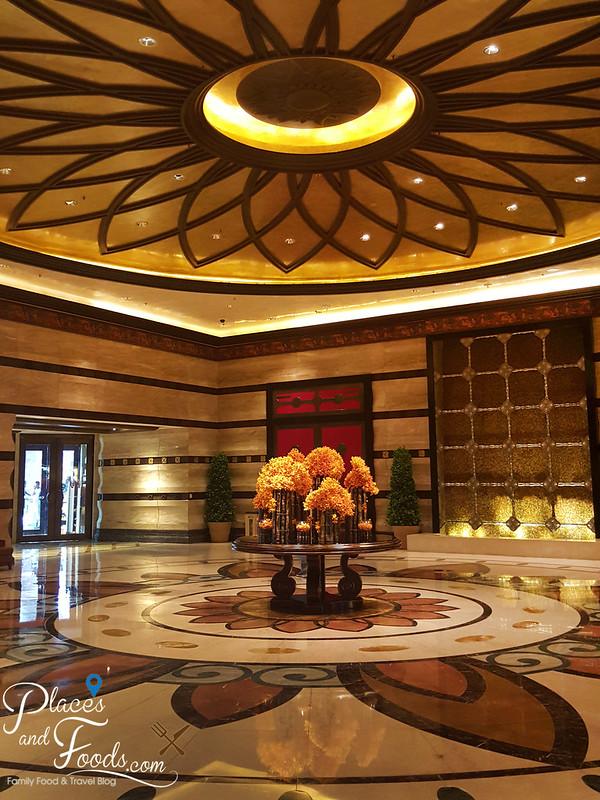 conrad macao lobby reflection