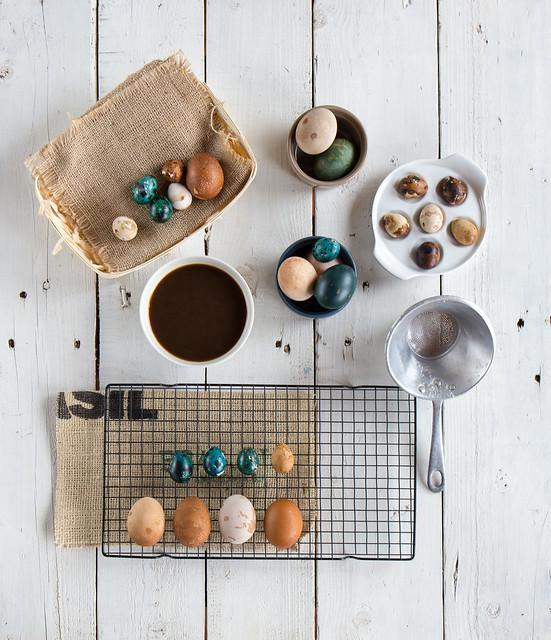 Uova al caffè