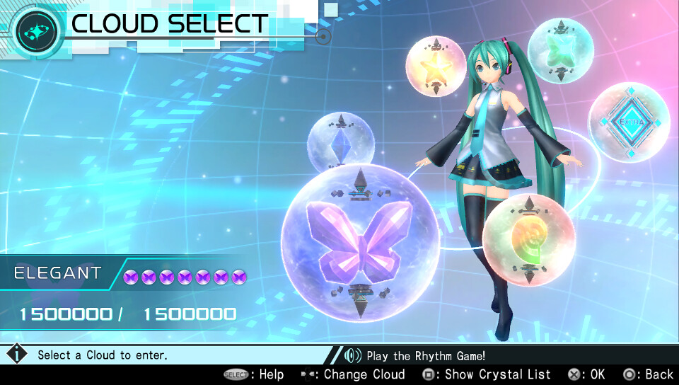 Hatsune Miku: Project DIVA X on PS4, PS Vita