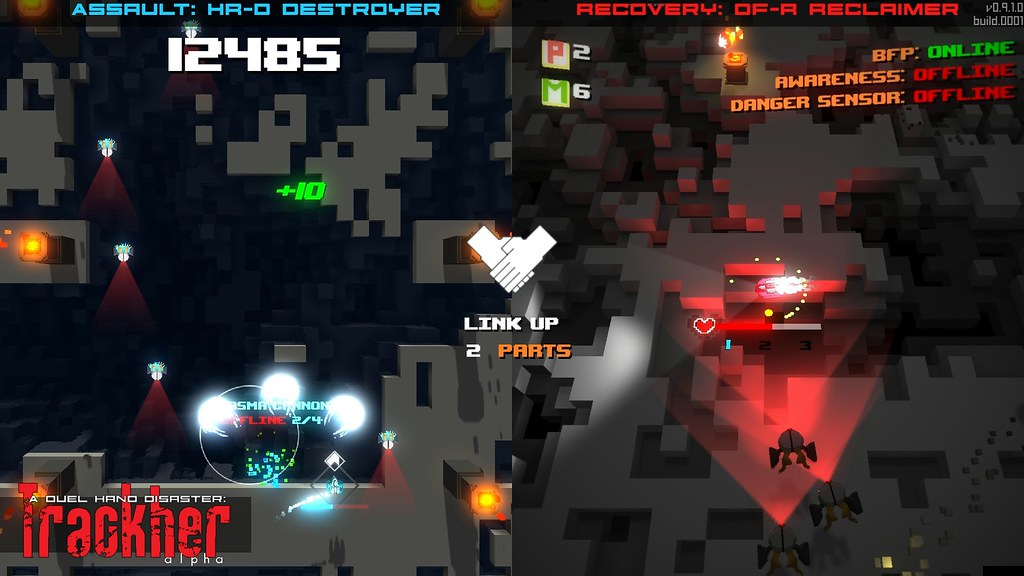 A Duel Hand Disaster: Trackher on PS4, PS Vita