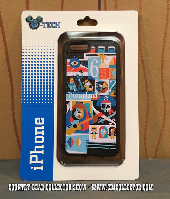 2015 D-Tech Disneyland 60th Anniversary iPhone Case - Country Bear Jamboree Collector Show #039