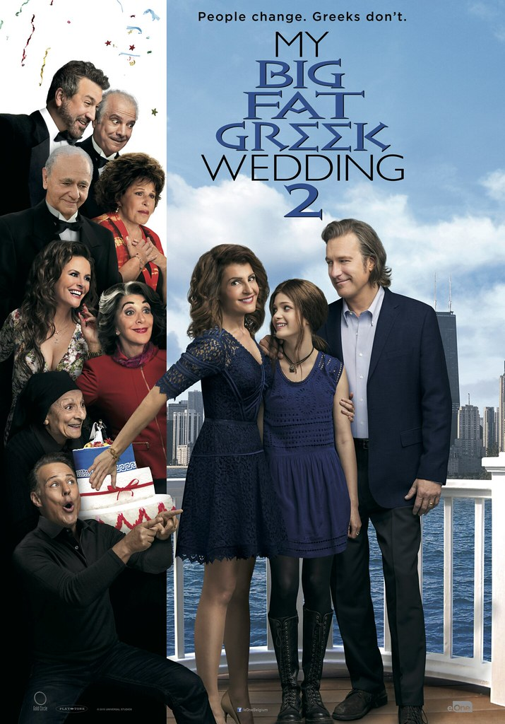 My Big Fat Greek Wedding 2 INT Artwork 70x100