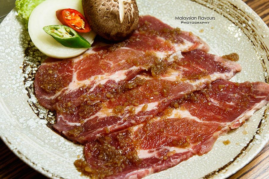 Kyung Joo Korean marinated pork neck