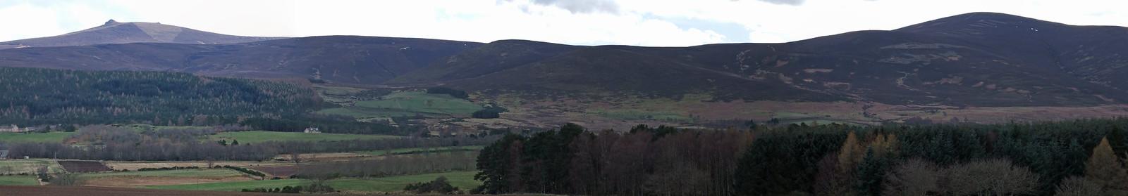 Clachnaben - Mount Battock Ridge