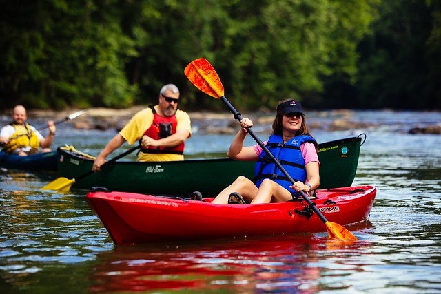 Paddling - Roanoke River