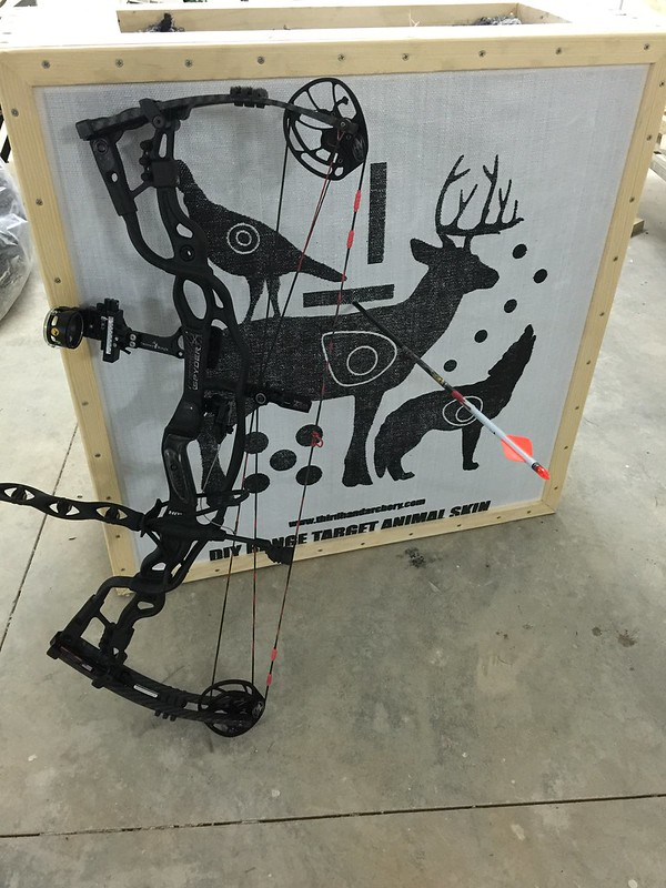 My Diy Third Hand Archery Targets
