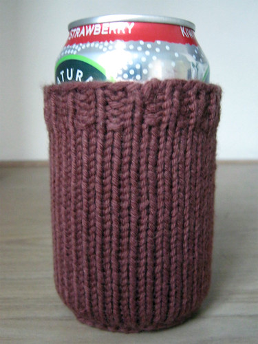 Garter Coaster Beer Cozy