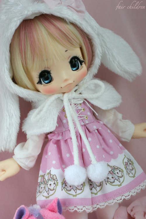 Sweet pink bunny 4