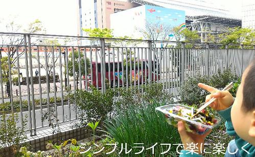 ライオンキング大阪、ランチ