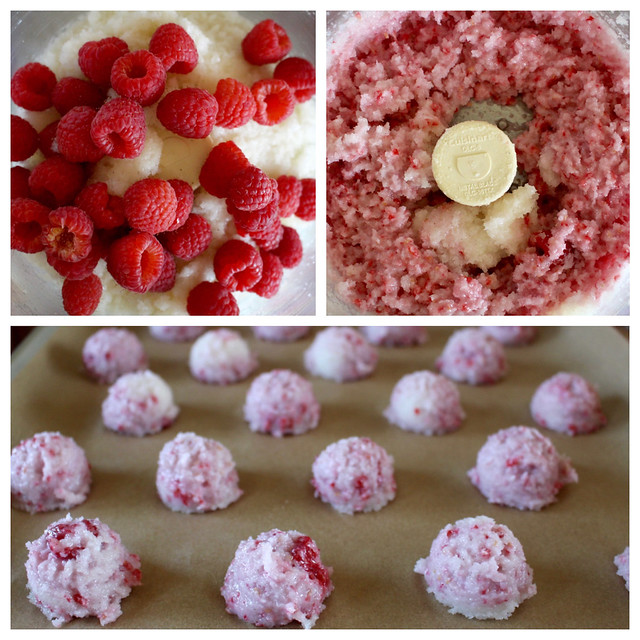 Raspberry Macaroons -16