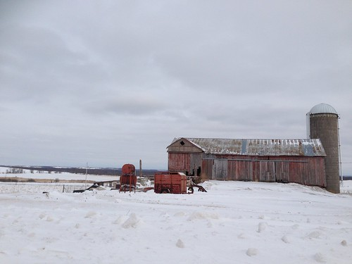 20140205 St. Cloud, Wisconsin wimter barn scene - 6