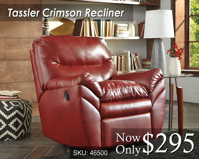 Tassler Crimson Recliner