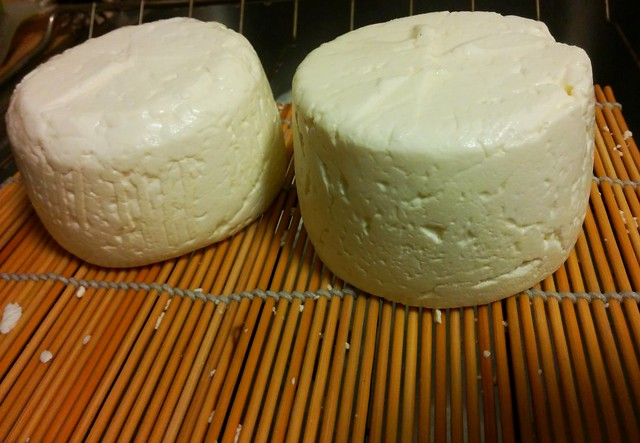 Trying our hand at brie now