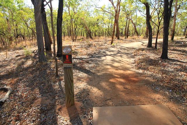 澳洲昆士蘭Undara Experience-Bush Breakfast地點指標-20141117-賴鵬智攝-1