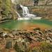Cummins Falls, Blackburn Fork, Cummins Falls State Park, Jackson County, Tennessee 2 by Alan Cressler