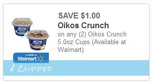 Oikos Crunch Cups Coupon