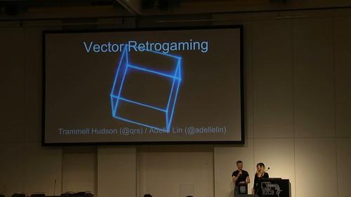Vector Retrogaming at 32c3