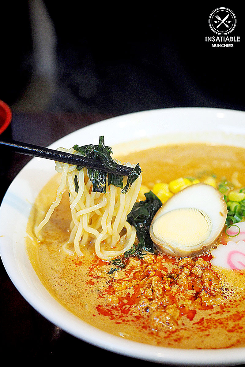 Tan Tan Ramen, $10.50: Miyama, Sydney CBD. Sydney Food Blog Review
