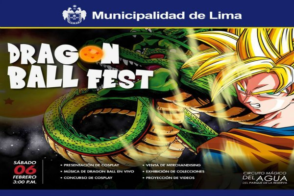 Dragon Ball Fest 2016 en el Parque de las aguas