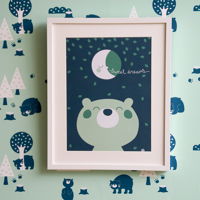Sweet dreams poster A3 picture square