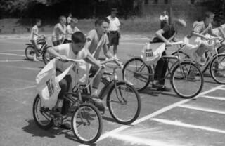 Tallahassee Democrat delivery boy bike race
