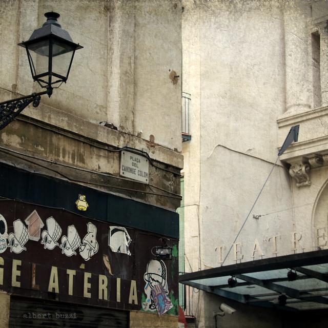 bBcn036:  Barcelona - Ciutat Vella - El Raval