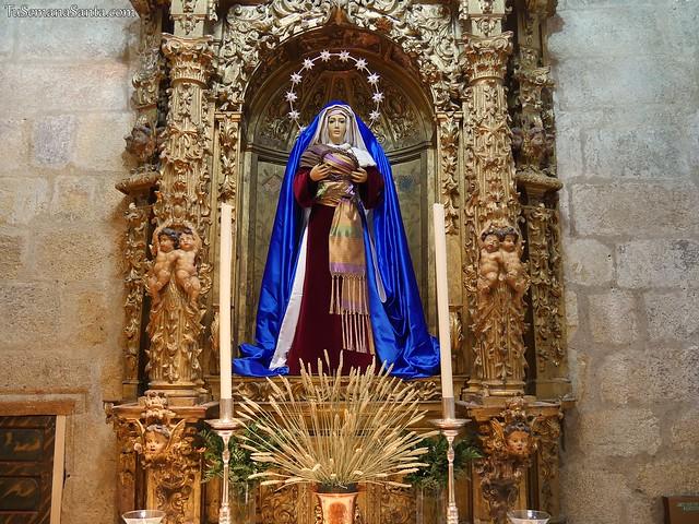 María Santísima de la Esperanza, de hebrea