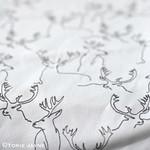 Deer Print Fabric 1