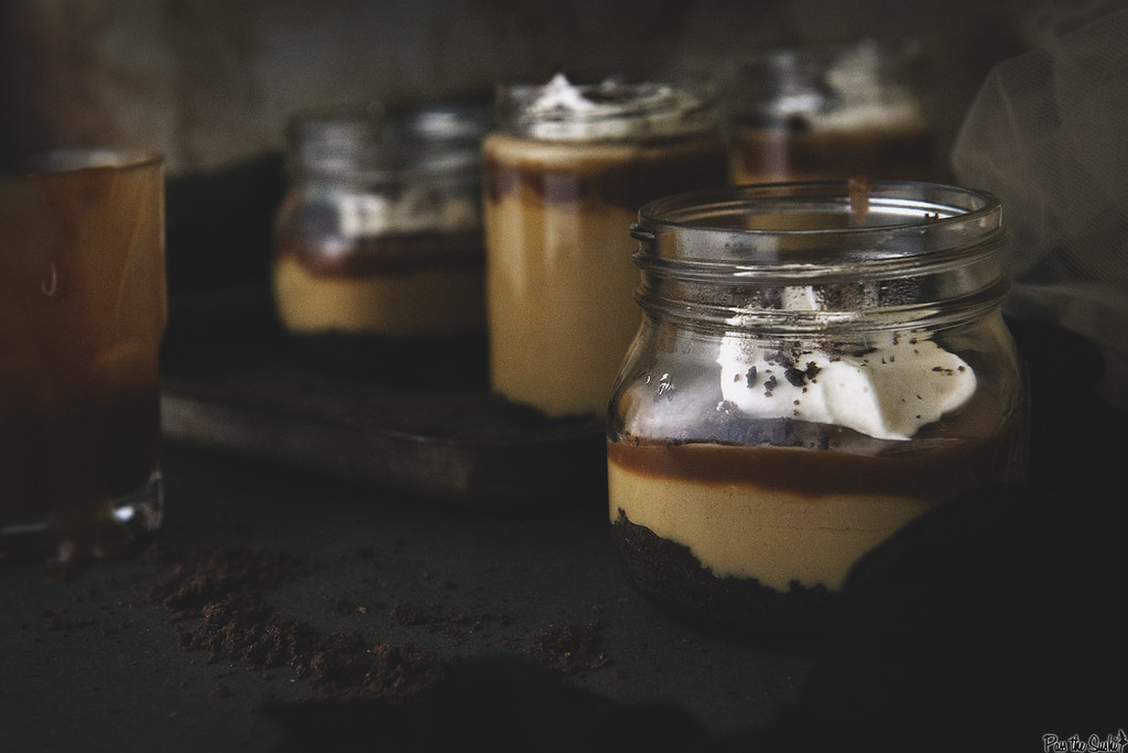 Salted Caramel Budino | AKA Italian Pudding - the best thing you've ever tasted!